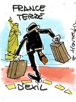 La France, terre d'exil